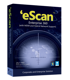 eScan Enterprise 360 (with MDM & Hybrid Network Support) plus MailScan