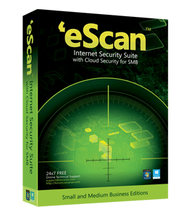 eScan Internet Security with Cloud Security for SMB